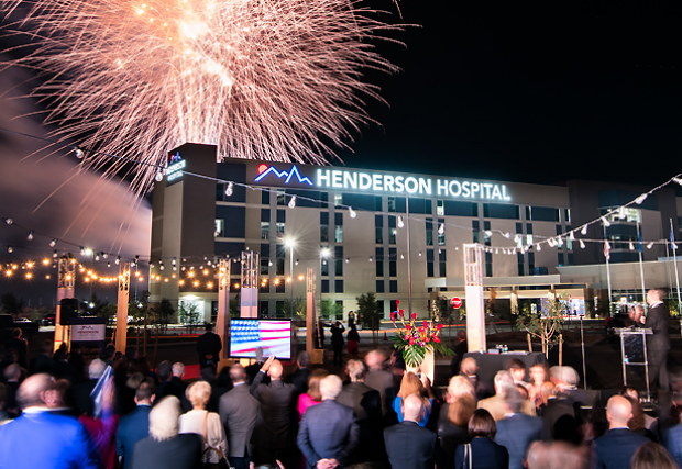 Henderson Hospital Opening