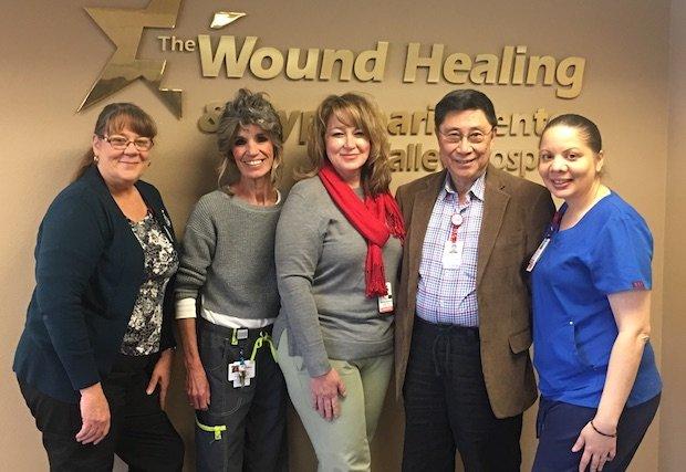 Valley Hospital reconocido con premio nacional a la excelencia clínica en servicios de atención de heridas