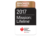 Mission: Lifeline STEMI Receiving Center Bronze Award 2017